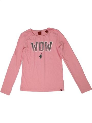 T-shirt manches longues fille SCOTH R'BELLE rose 10 ans hiver #1290327_1