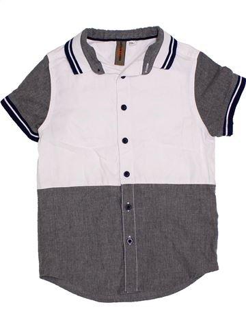 Chemise manches courtes garçon URBAN 65 OUTLAWS blanc 7 ans été #1290824_1
