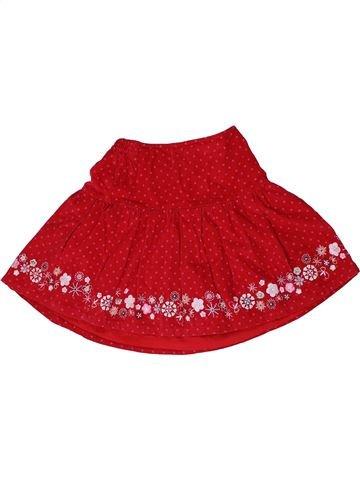 Falda niña MOTHERCARE rojo 5 años invierno #1290988_1