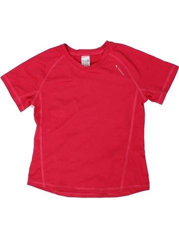 Camiseta deportivas niña QUECHUA rojo 8 años verano #1292025_1