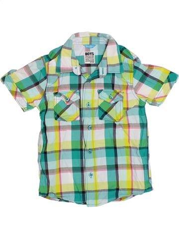 Chemise manches courtes garçon HEMA gris 8 ans été #1292690_1