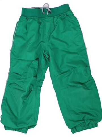 Pantalon garçon KIKI & KOKO vert 4 ans hiver #1292886_1