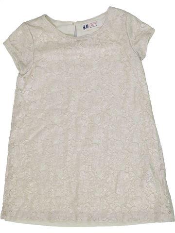 Túnica niña H&M blanco 4 años verano #1293756_1