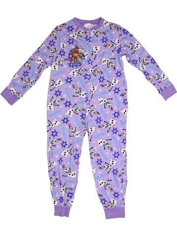 Combinación larga niña DISNEY violeta 6 años invierno #1293869_1