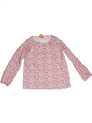 T-shirt manches longues fille PUSBLU rose 8 ans hiver #1294249_1