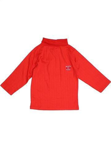 Camiseta de cuello alto niño TODDLER rojo 12 años invierno #1294301_1