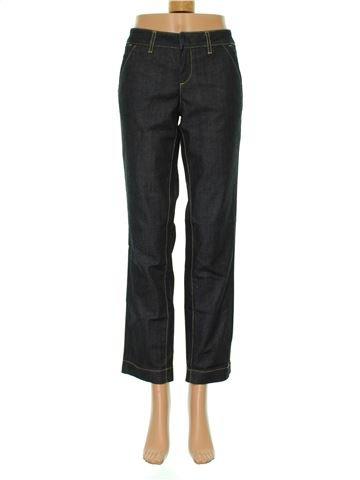 Pantalón crop mujer BENETTON 40 (M - T2) verano #1294517_1