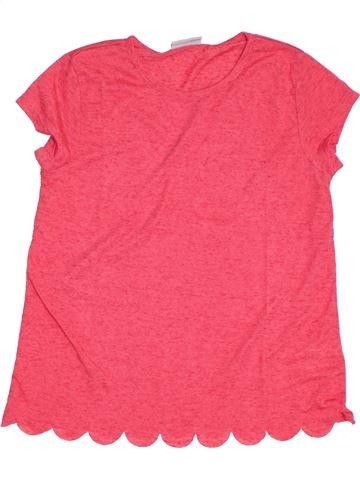T-shirt manches courtes fille I LOVE GIRLSWEAR rose 12 ans été #1294595_1