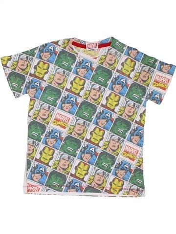 T-shirt manches courtes garçon SUPERS HÉROS gris 6 ans été #1294628_1