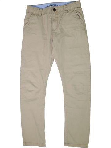 Pantalon garçon HEMA beige 13 ans hiver #1295347_1