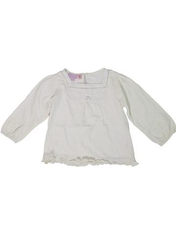 T-shirt manches longues fille MONSOON blanc 2 ans hiver #1295950_1