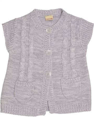 Gilet fille CHEROKEE gris 8 ans hiver #1296278_1