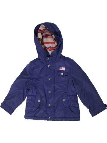 Manteau garçon ORIGINAL MARINES bleu 4 ans hiver #1296292_1