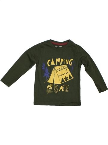 T-shirt manches longues garçon NUTMEG marron 5 ans hiver #1296938_1