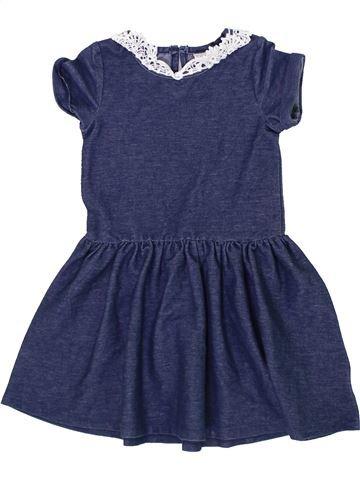 Robe fille MINI CLUB bleu 3 ans hiver #1296986_1