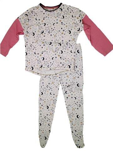 Pijama de 2 piezas niña TU blanco 13 años invierno #1297271_1