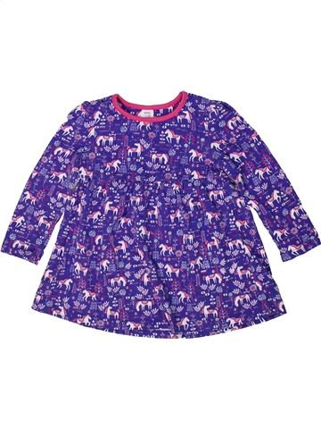 Vestido niña MINI CLUB violeta 2 años verano #1297382_1