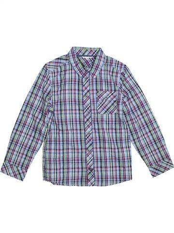 Chemise manches longues garçon JOHN LEWIS gris 10 ans hiver #1297706_1