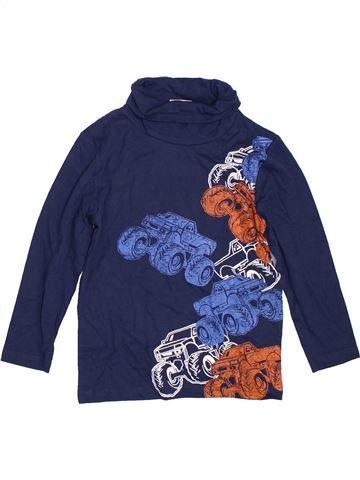 T-shirt col roulé garçon KIDS bleu 6 ans hiver #1297739_1