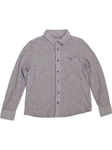 Chemise manches longues garçon BOYS gris 7 ans hiver #1298181_1