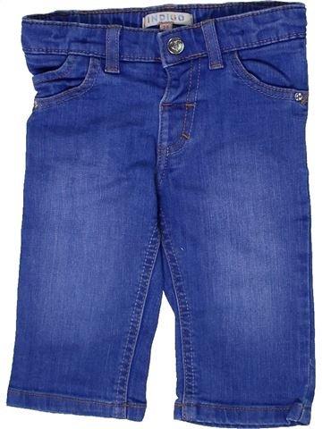 Pantalón corto niña MARKS & SPENCER azul 3 años verano #1298220_1