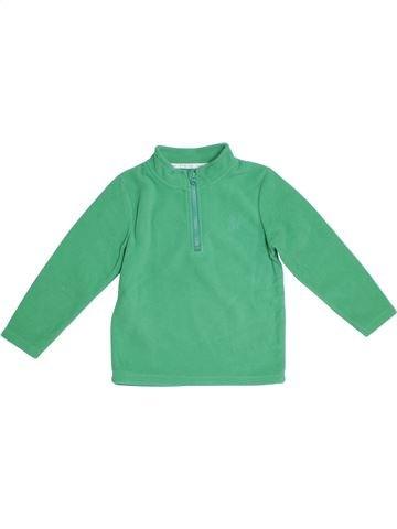 Pull garçon NUTMEG vert 6 ans hiver #1298448_1