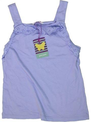 T-shirt sans manches fille JOHN LEWIS violet 12 ans été #1298680_1