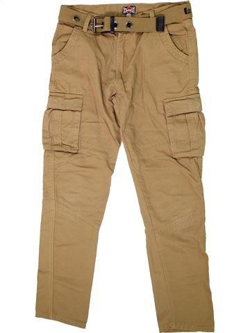 Pantalon garçon LEE COOPER marron 12 ans été #1298684_1