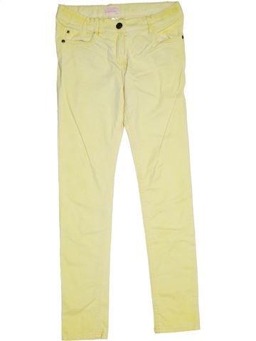 Pantalón niña ALIVE amarillo 12 años verano #1298848_1