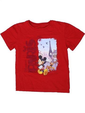 Camiseta de manga corta niño DISNEY rojo 8 años verano #1298892_1