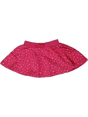 Falda niña GEORGE rosa 18 meses verano #1299119_1