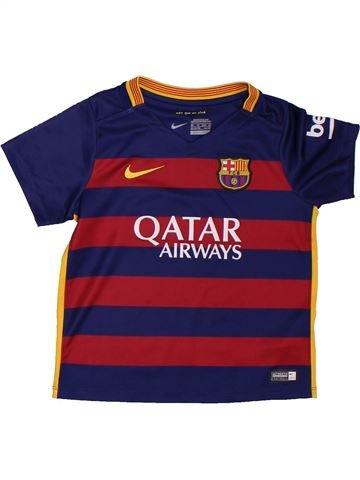 Camiseta deportivas niño NIKE violeta 4 años verano #1299648_1