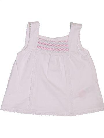Camiseta sin mangas niña F&F blanco 1 mes verano #1299680_1