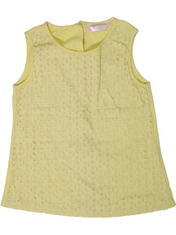 Camiseta sin mangas niña MATALAN beige 11 años verano #1299764_1