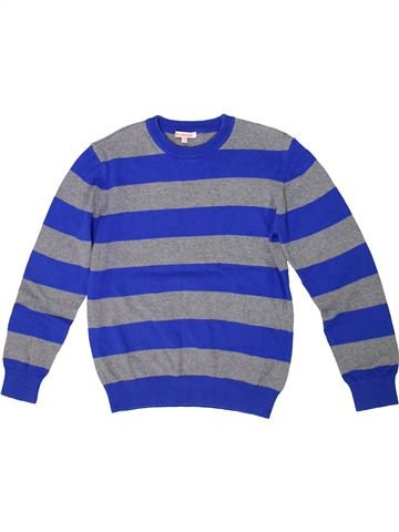 Pull garçon BLUEZOO bleu 10 ans hiver #1299774_1