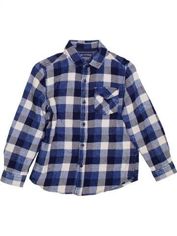 Chemise manches longues garçon NEXT bleu 7 ans hiver #1300078_1