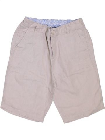 Short - Bermuda garçon MONSOON blanc 9 ans été #1300114_1