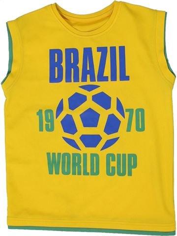 Camiseta deportivas niño MATALAN amarillo 9 años verano #1300265_1