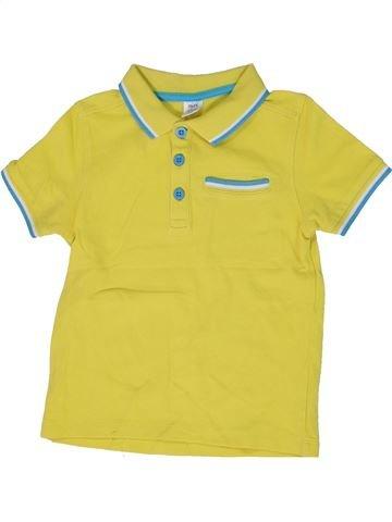 Polo manches courtes garçon MINI CLUB vert 5 ans été #1300324_1