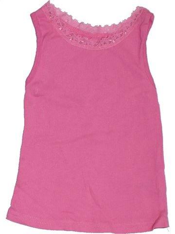 T-shirt sans manches fille NUTMEG rose 3 ans été #1300371_1
