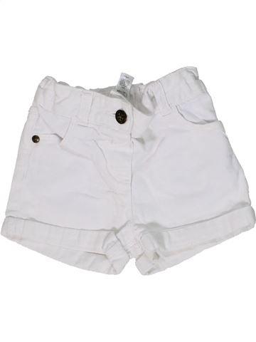 Short-Bermudas niña GEORGE blanco 2 años verano #1300393_1