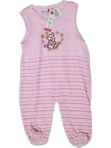 Pijama de 1 pieza niña BERTI rosa 12 meses invierno #1300627_1