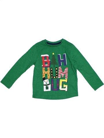 Camiseta de manga larga niño TU verde 2 años invierno #1300766_1