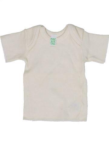 Camiseta de manga corta unisex PRENATAL blanco 1 mes verano #1300875_1