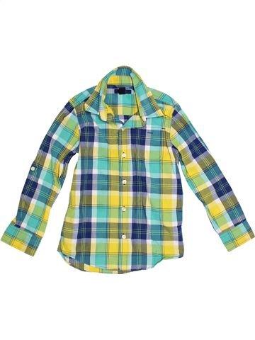 Chemise manches longues garçon GAP vert 7 ans hiver #1300942_1