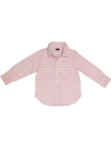 Camisa de manga larga niño GAP violeta 3 años invierno #1300997_1