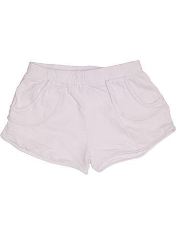 Short - Bermuda fille I LOVE GIRLSWEAR blanc 12 ans été #1301087_1