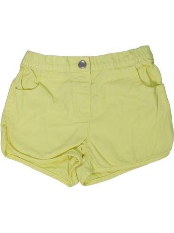 Short-Bermudas niña TU verde 4 años verano #1301160_1