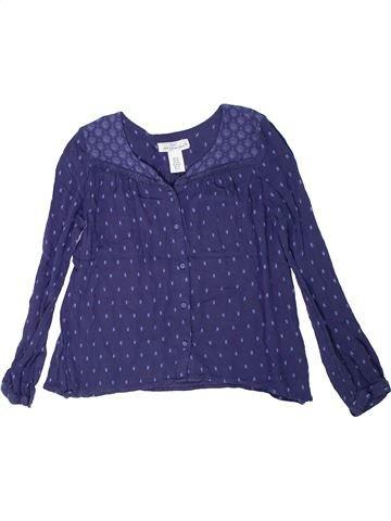 Blusa de manga larga niña H&M violeta 10 años invierno #1301359_1
