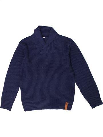 jersey niño SANS MARQUE azul 8 años invierno #1301383_1